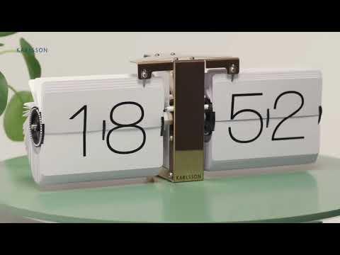 Karlsson Flip Klok : Karlsson flip clock no case youtube