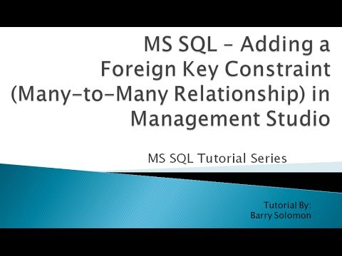 one to many relationship sql foreign key null