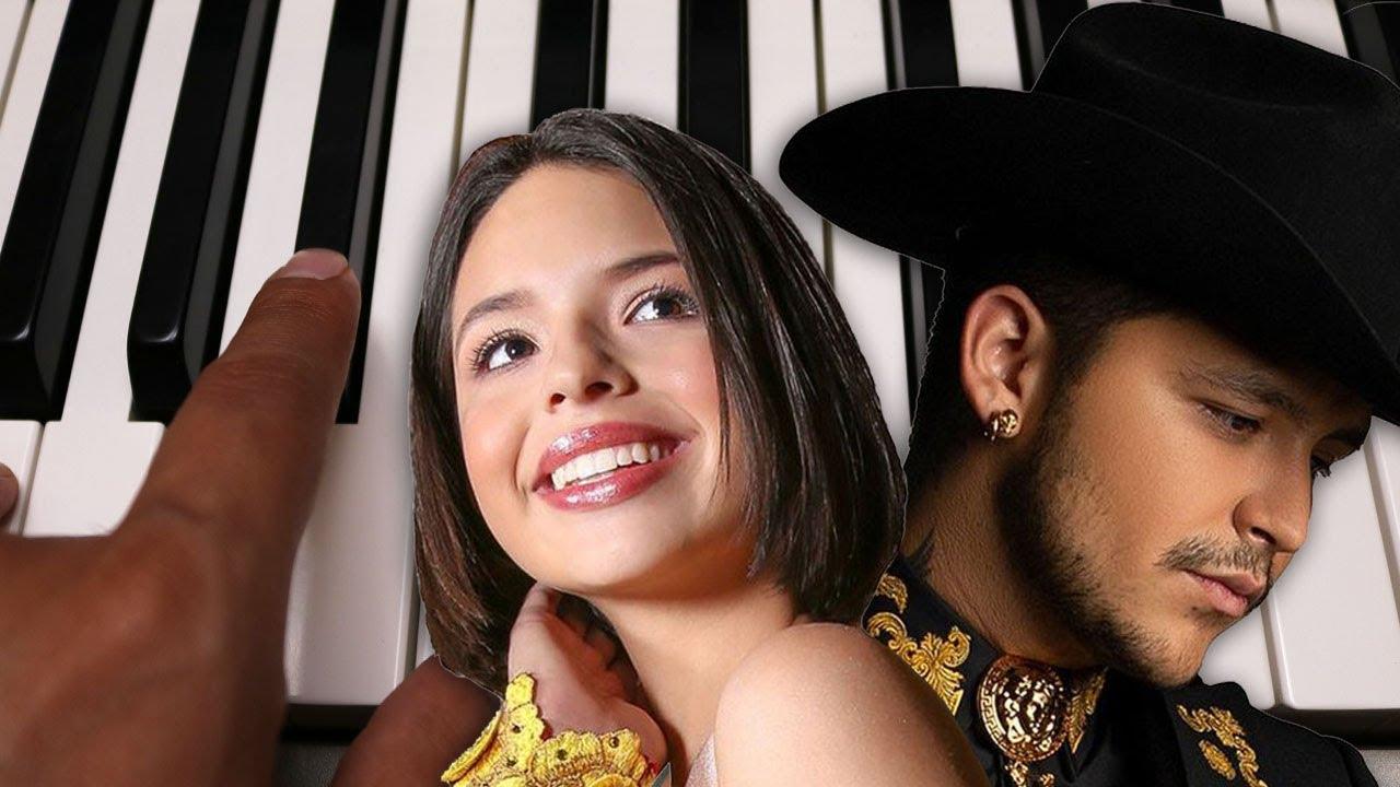 Dime Como Quieres / Christian Nodal Angela Aguilar / Piano Tutorial / Notas Musicales / Cover