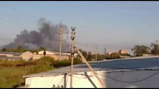 Пожар в 2-этажном здании мебельного цеха. Петропавловск, ул. Абая, 16.