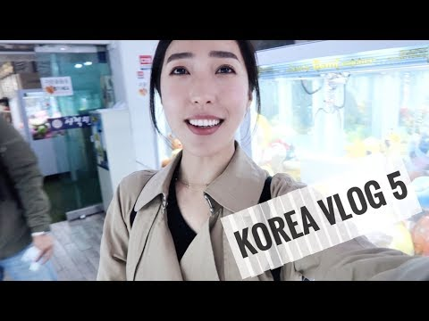 KOREA VLOG: SHOP WITH ME IN HONGDAE & HAIRCUT IN MYEONGDONG!