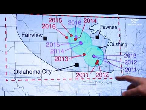 Geospatial analysis of Oklahoma earthquakes