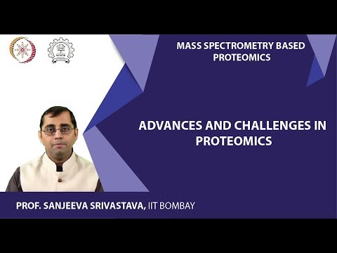 MOOC NPTEL Lecture 20 Mass spectrometry