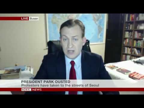 Thumbnail: BBC INTERVIEW GOES WRONG: Kids interrupt dad on live BBC World broadcast