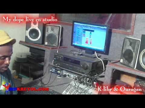 Ma Dope(studio Session) K-libr & Ouragan(k.o)