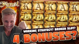 Faust BIG WIN - 10 euro bet - Big win from Casino LIVE stream