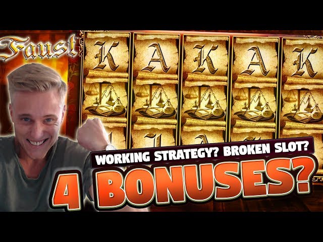 Faust BIG WIN - 10 euro bet - Big win from Casino LIVE stream