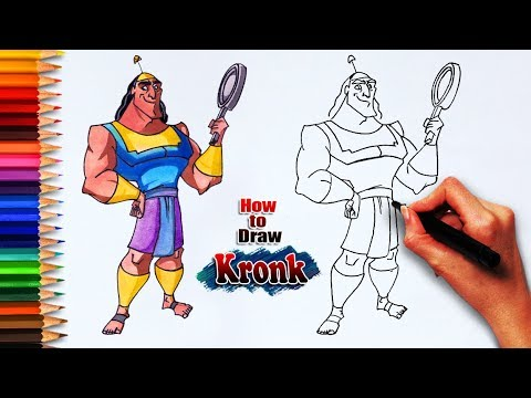 kronk coloring pages - photo#26