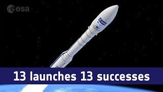 Vega: 13 launches 13 successes