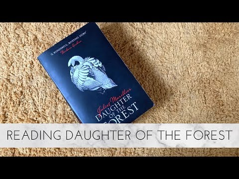 VLOG: Reading Daughter Of The Forest | Bookmarks And Vlogging