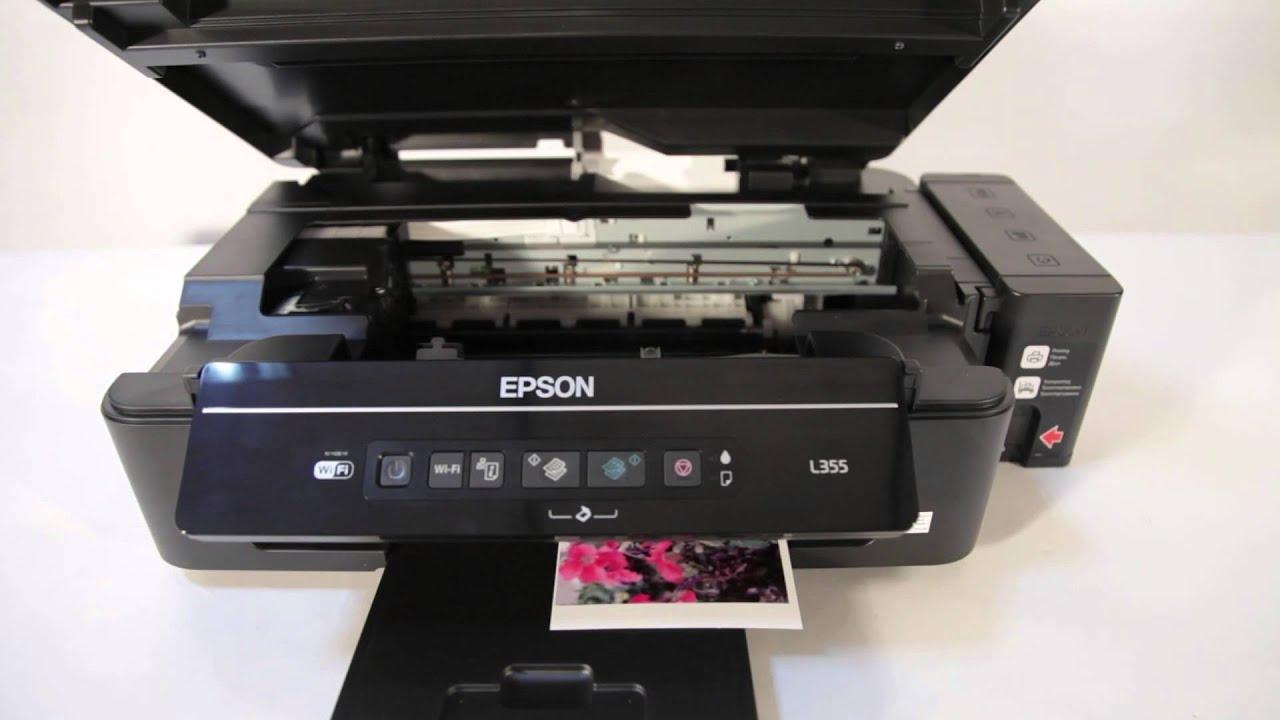 инструкция к принтеру epson l 110