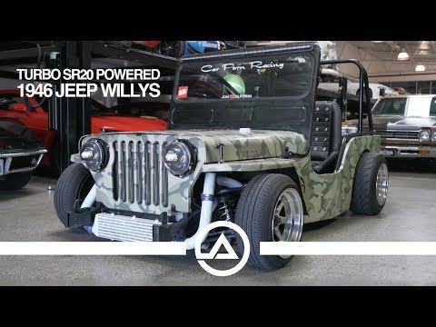 WTF?? A Turbo SR20 Swapped & Dropped 1946 Jeep Willy's!!