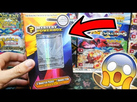 OPENING THE BEST CUSTOM POKEMON MYSTERY POWER BOX!! SILVER CARD POWER!!