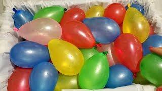 WATER BALLOONS POP!!!