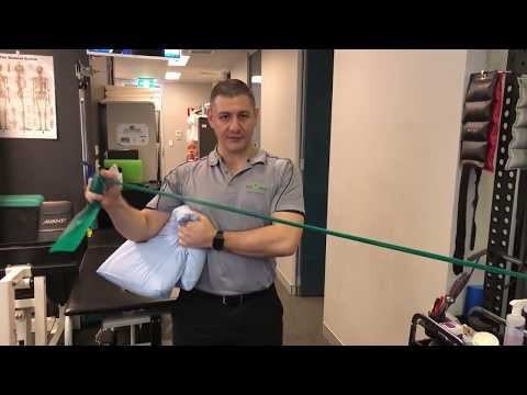 Theraband Strengthening for Shoulder Injuries - Rehab Progression