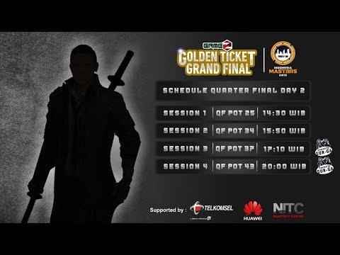download GAMEZ GOLDEN TICKET SQUAD | QUARTER FINAL DAY 2