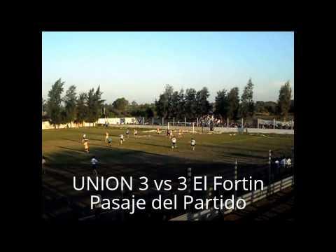 Clasico de Machagai UNION 3 VS 3 El Fortin