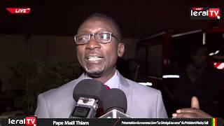 """Pape Maël Thiam : """" Macky Sall avait senti le besoin de recadrer la perception des Sénégalais de..."""""""