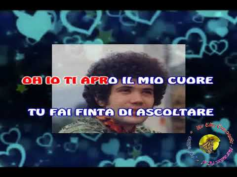 Lucio Battisti - Una (karaoke - fair use)