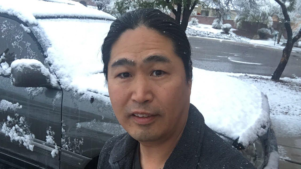 Download Snowing in Tucson Arizona