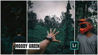 മൂഡി ഗ്രീൻ effect• lightroom mobile tutorial•how to edit moodi green travel photos