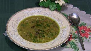 Zupa grzybowa z suszonych grzybów (wigilijna)