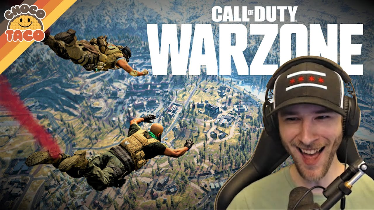 NEW Call of Duty: Warzone BR Breeds Chaos - chocoTaco CoD Gameplay