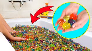 1 Million Orbeez Challenge Accepted! Orbeez Bath And Orbeez Bed