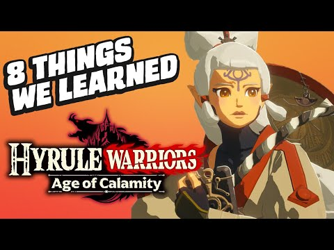 8 Things We Learned From The Hyrule Warriors: Age Of Calamity TGS Show