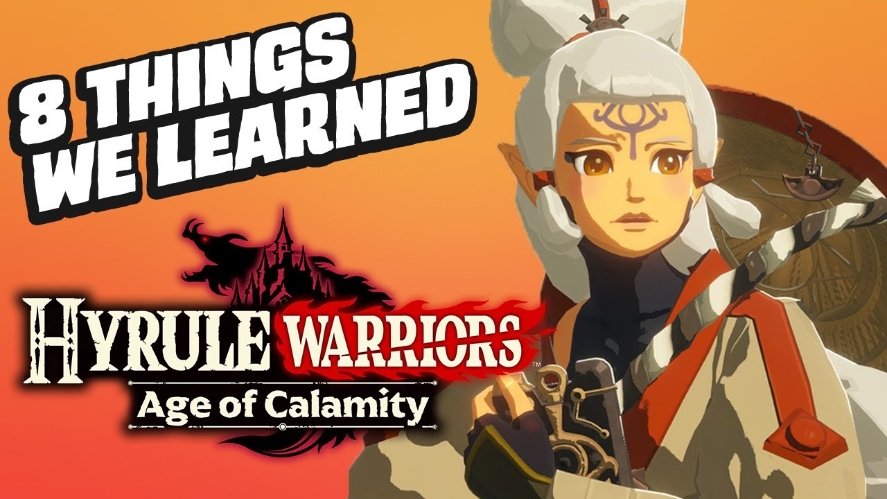 8 Things We Learned From The Hyrule Warriors Age Of Calamity Tgs Show Youtube