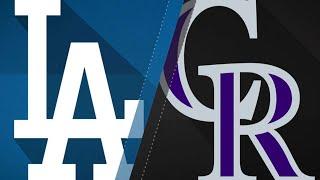 Dodgers Beat Rox In Regular Season Finale: 10/1/17