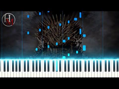 Game of Thrones Medley Orchestra - Ramin Djawadi Hard - Piano Tutorial