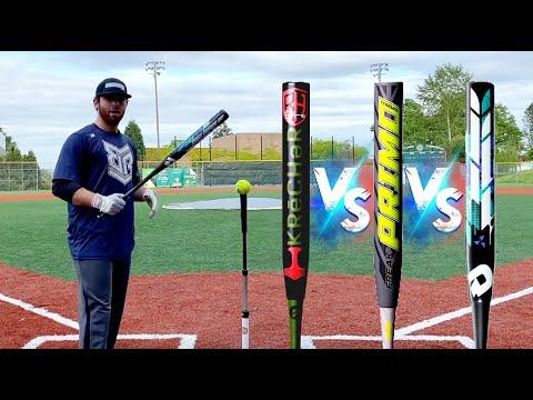 2020 Slowpitch Softball Bat Exit Velo Testing Miken vs DeMarini vs Worth USSSA Slowpitch Bats