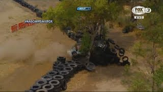 NASCAR PEAK México Series Challenge 2017. Autódromo de León. Huge Crash