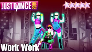 MEGASTAR - Work Work - Just Dance 2019 - Kinect