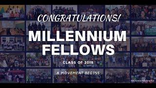 Millennium Fellowship Graduation - Class of 2018