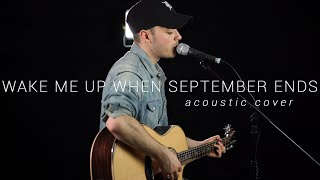 Green Day - Wake Me Up When September Ends (Cover by Dave Winkler)
