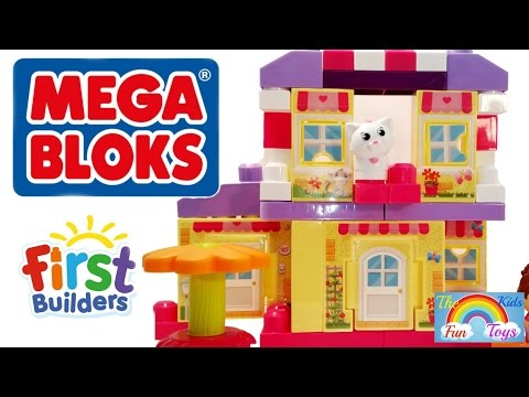 Super Cool and Colorful Mega Bloks First Builders Cozy Cottage Set