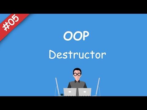 #05 [oop] - Destructor