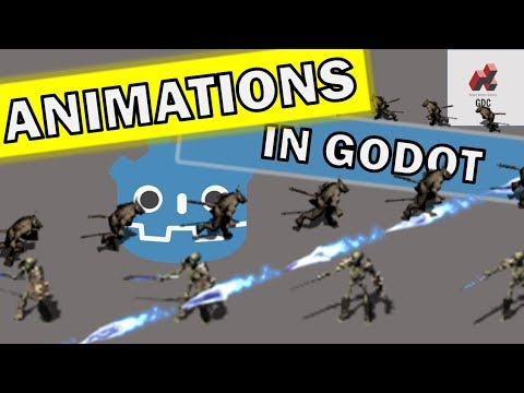 Direction Dependent Animations Godot 2d Tutorial thumbnail