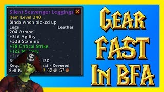 How to Quickly Get Geared at lvl 120 (What to do at 120) - World of Warcraft