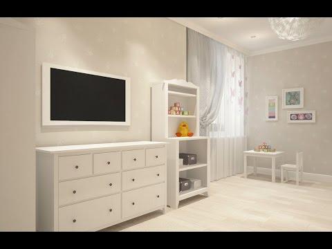 Видео Ремонт детской комнаты фото