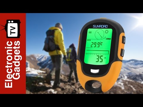 This Sunroad FR500 Altimeter is Your Perfect Outdoor Activities Companion!