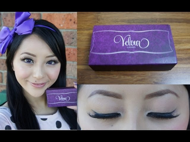 Introducing Velour Lashes And Giveaway Sponsored Misspixielulu