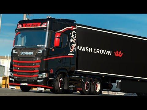 ETS2 1.30 open beta NextGen Scania S730  Milano - Marseille
