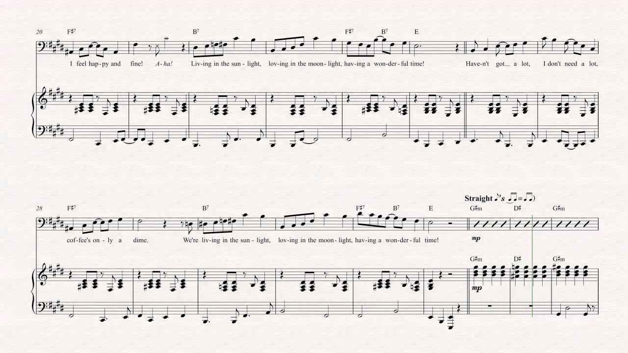 Bassoon living in the sunlight tiny tim sheet music chords bassoon living in the sunlight tiny tim sheet music chords vocals hexwebz Images