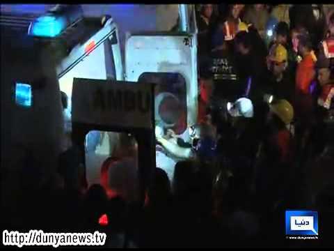 Dunya News - Deadly Turkey Blast 'Traps Hundreds'