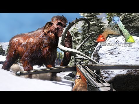 ARK: Survival Evolved - SNOW MOUNTAINS!! (ARK Ragnarok Gameplay)
