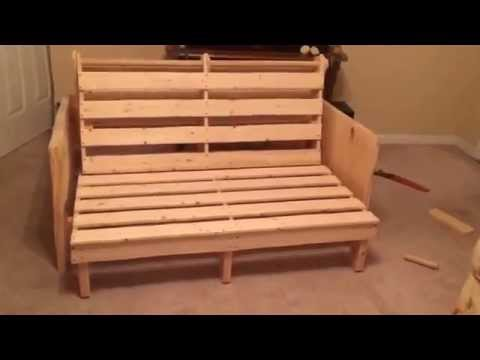 Homemade Futon Bed Frame