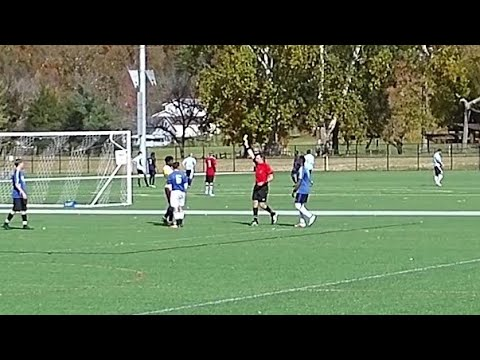 Adult League Soccer With Referees Mic'd Up - Graziano's Vs Univ. Of Charleston